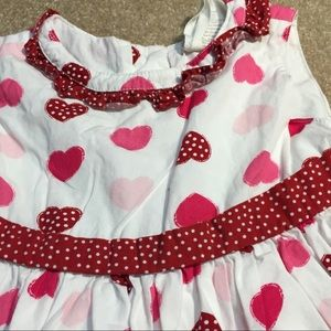 Crazy 8 heart dress with petticoat and netting